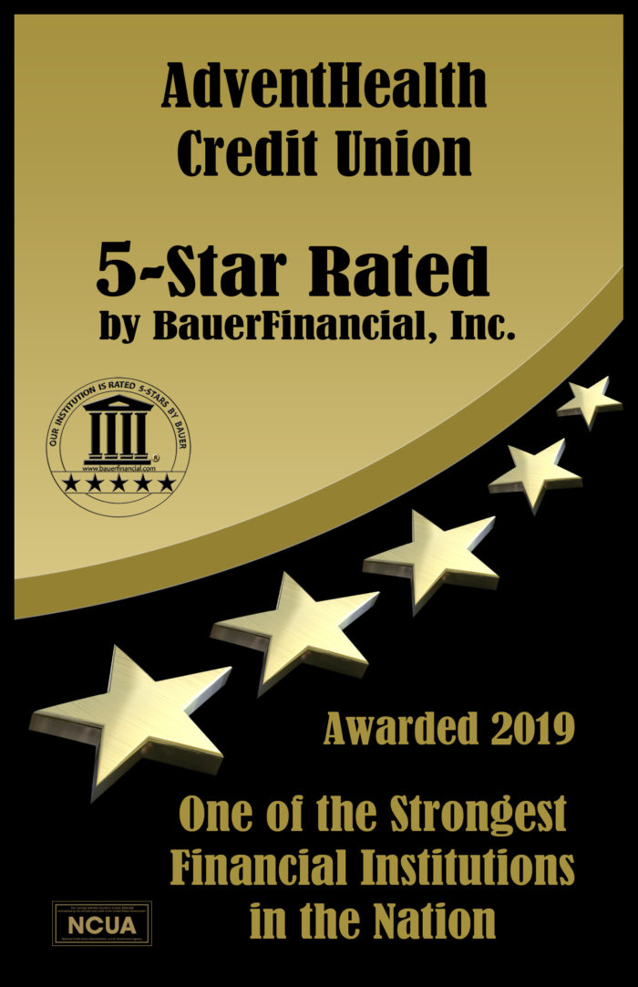 In 2019 awarded a 5 star rating by BauerFinancial as one of the strongest financial Institutions in the Nation.