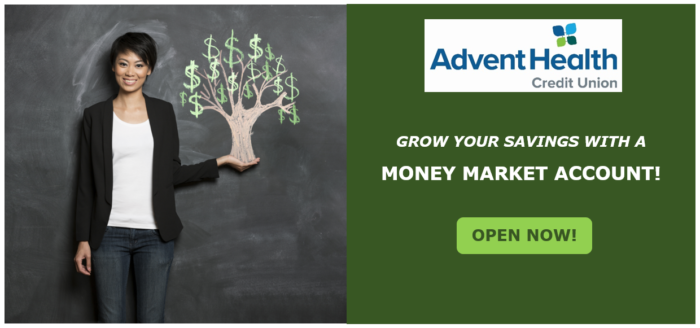 Grow your savings with a Money Market. Open an account now.