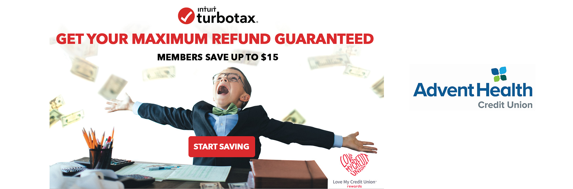 Members save up to $15 on Turbo Tax. Get your maximum refund.