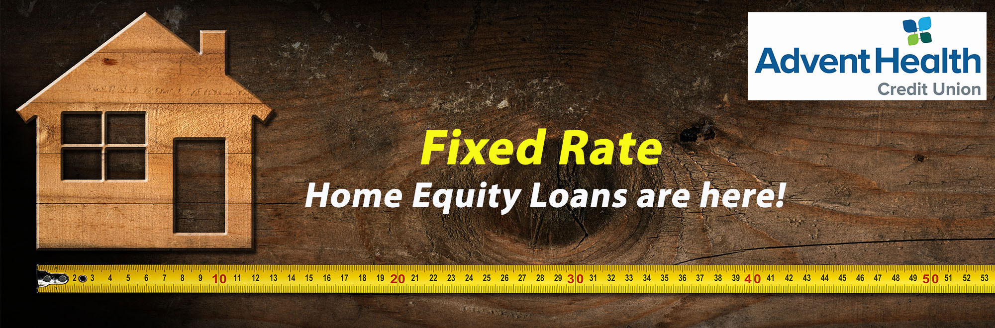 Fixed rate home equity loans are here
