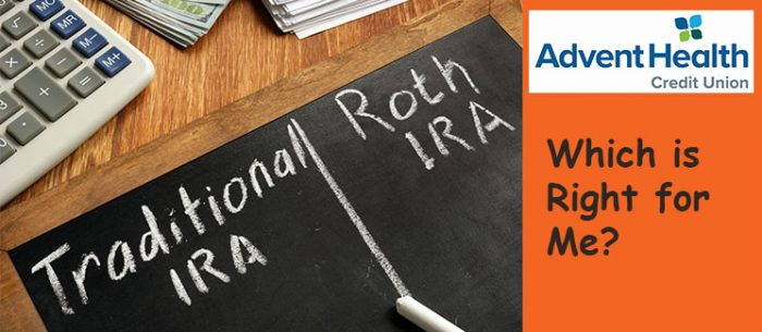 Traditional IRA, Roth IRA. Which one is right for me?